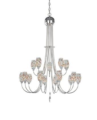 Dionyx chandelier - 15 light - 220 - 240V (for use in Australia, Europe, Hong Kong etc.), Brandywine