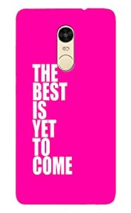 Latest Designer New Back Case for Redminote3 (Green and White) By PLESPEY
