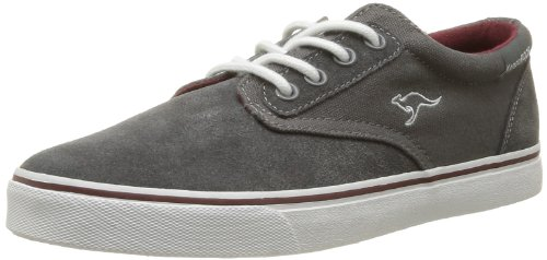 Kangaroos Men's Dimitri Trainers Gray Gris (262 Dk Grey Burgundy) 12 (46 EU)