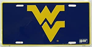 America sports West Virginia Mountaineers - College LICENSE PLATES
