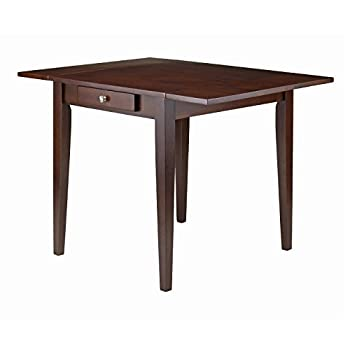 Winsome Wood Hamilton Double Drop Leaf Dining Table