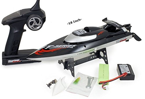 Top Race® Remote Control RC Boat, Speed of 30 Mph, Auto Flip Recovery, 2.4 Ghz Transmitter, Professional Series TR-1200 (Rc Boats Gas compare prices)