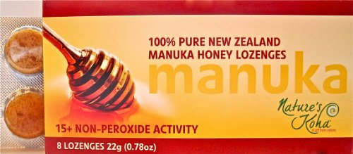 Natures Koha Manuka Honey NPA15+ Lozenges 8 pack
