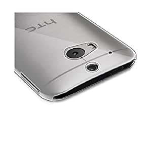 2010kharido Crystal Clear Transparent Hard Back Case Cover for HTC One 2 M8