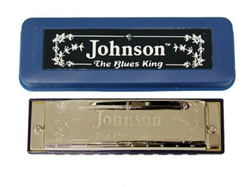 Johnson Bk-520-D Blues King Harmonica, D