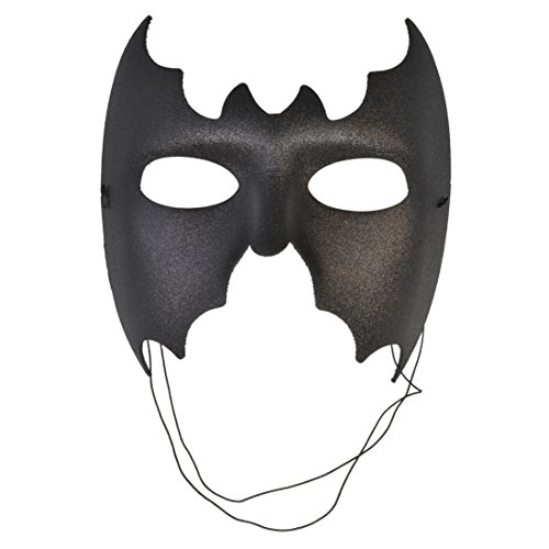Black Mask Batman Fabric Italian Masks Halloween Costume Masquerade Face Mask