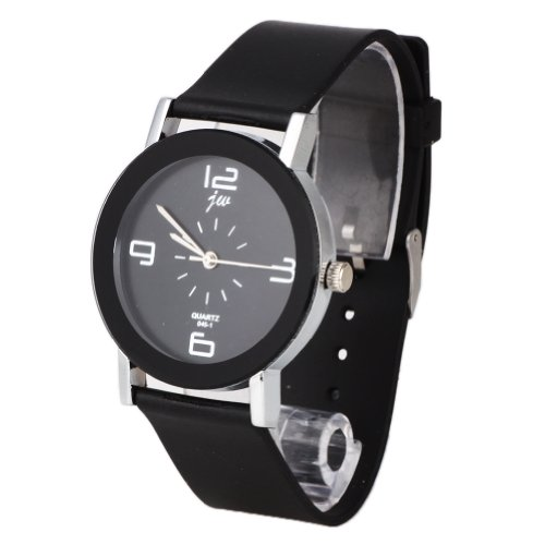 WLM Circle Design Style Quartz Wrist Watch Watches on Sale Black