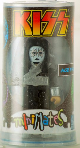 KISS - 2002 - Art Asylum - MiniMates - RARE - KISS Ace Frehley Figure - 3.5 Inch - Collector Package - Out of Production - New - Limited Edition - Collectible - 1