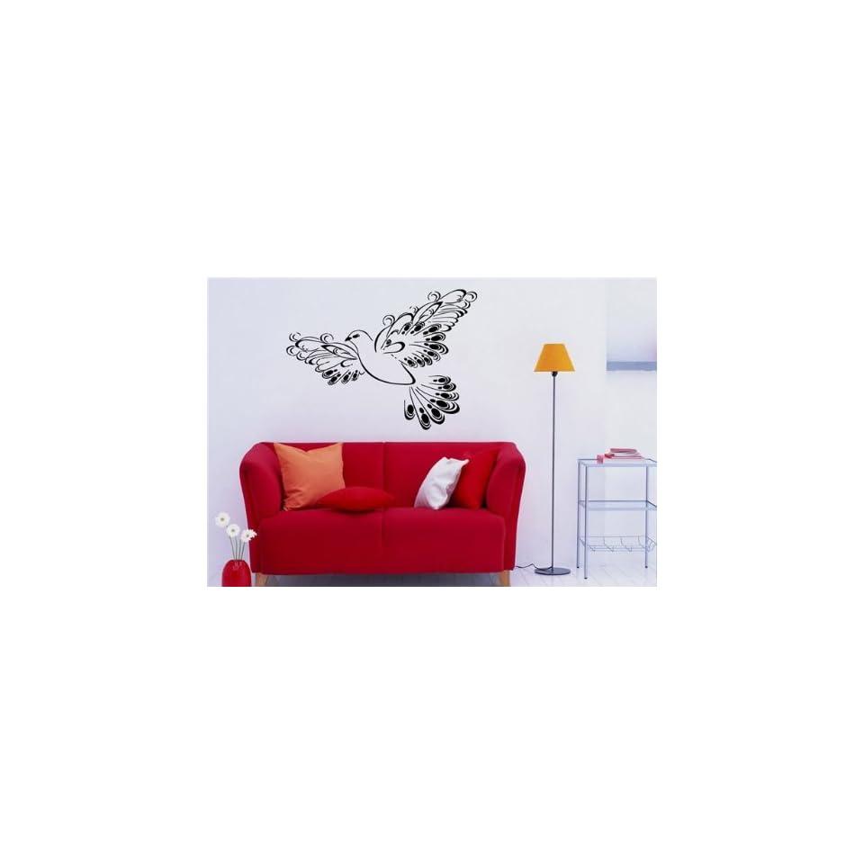Wall Mural Vinyl Sticker ART Design FLY Dove S3609