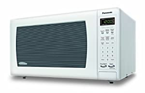 Panasonic NN-SN733W Sensor Microwave Oven with Inverter Technology, 1.6 Cubic Feet, White