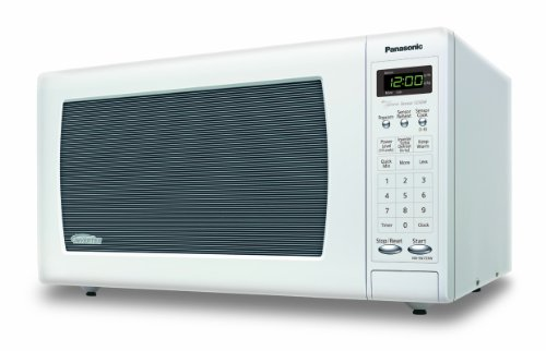 Panasonic NN-SN733W White 1.6. Cu. Ft. Sensor Microwave Oven with Inverter Technology,