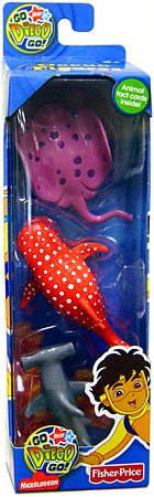 Go Diego Go! Safari Ocean Figure 3-Pack (Hammerhead Shark, Whale Shark & Stingray) - Buy Go Diego Go! Safari Ocean Figure 3-Pack (Hammerhead Shark, Whale Shark & Stingray) - Purchase Go Diego Go! Safari Ocean Figure 3-Pack (Hammerhead Shark, Whale Shark & Stingray) (Fisher Price, Toys & Games,Categories)