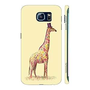 Enthopia Designer Hardshell Case Mr.Giraffe Back Cover for Samsung Galaxy S7 Edge