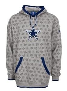 Dallas Cowboys Reebok Loud & Proud Fleece Hooded Sweatshirt Size 2XL Adult NFL... by Reebok