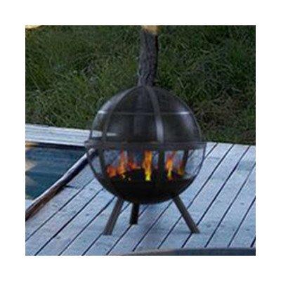 Sphere-Steel-Wood-Fire-Pit