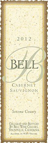 2012 Bell Wine Cellars Sonoma County Cabernet Sauvignon 750 Ml