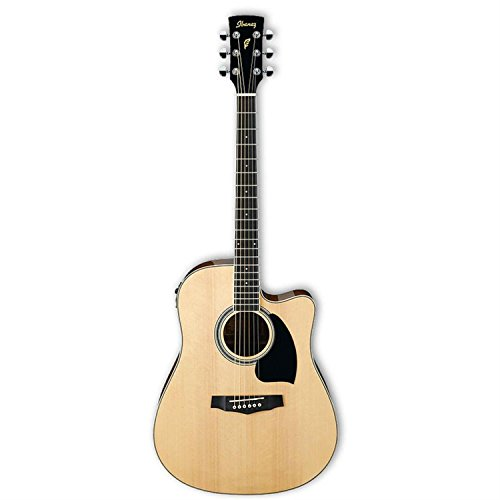 Ibanez Pf15ecent Performance Dreadnought Acoustic-Electric G