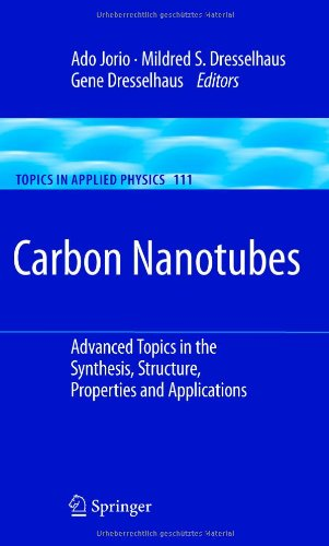 Carbon Nanotubes: Advanced Topics In The Synthesis, Structure, Properties And Applications (Topics In Applied Physics)