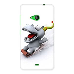 Enticing Slide Dog Back Case Cover for Lumia 535