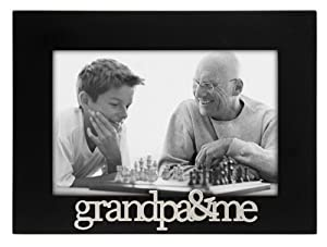 Malden Grandpa and Me Expressions Frame, 4 by 6-Inch