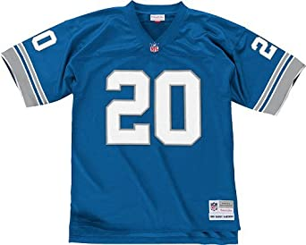 Detroit Lions Mitchell & Ness 1996 Barry Sanders #20 Replica Throwback Jersey by Mitchell & Ness