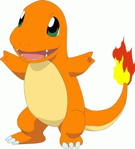 Pokemon-Charmander-Cartoon-Alta-Calidad-De-Coche-De-Parachoques-Etiqueta-Engomada-12-x-12-cm