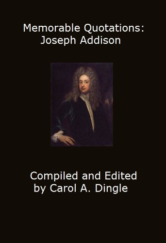 addison essay joseph Essays of joseph addison by james george frazer volume 2 of 2 download read paperback premium  select esays of addison together with macaulay's essay on addison's life and writings by samuel thurber friendly books on far cathay being a bibliography for the student, and a synopsis of chinese history by florence ayscough.