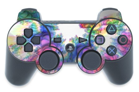 Mygift Flashback Design Ps3 Playstation 3 Controller Protector Skin Decal Sticker