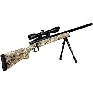 UTG Gen 5 AccuShot Competition Master Sniper Rifle, Army Digital