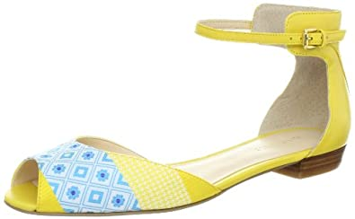 Nine West Women's Joeley Sandal,Yellow/Yellow South Beach,10.5 M US