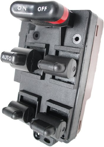 1994-1997 Accord Dx Power Window Master Control Switch Honda (1994 1995 1996 1997 94 95 96 97 Drivers Side, Power, Button, Panel, Door, Lock)