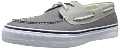 Sperry Top-Sider Mens Leather Canvas Bahama Boat Shoe by Sperry Top-Sider