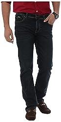 KILLER Men's Regular Fit Jeans (4144. JIM JSTNFT PBL_34, Black, 34)