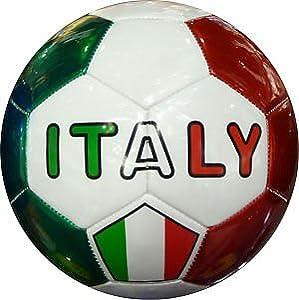 Italy Soccer Ball Italy Flag by Italy