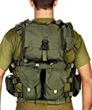 Officer Swat Military Tactical Vest Cordura Combat Harness Distributed-Load System Size XL Extra Large Israel Defence Force Tested, made in Israel