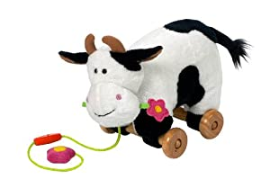 Daisy the Cow Pull Along Soft Toy