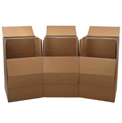 Wardrobe Moving Boxes (3-Pack) - Brand: Cheap Cheap Moving Boxes (Wardrobe Packing Boxes compare prices)