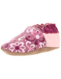 Robeez Soft Soles Modern Paisley Crib Shoe (Infant/Toddler)