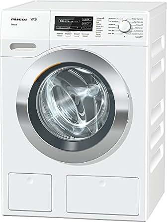 Miele WKG130WPS D LW TDos Waschmaschine FL / A+++ / 176 kWh/Jahr / 9900 Liter/Jahr / 8 kg / 1600 UpM / Thermo-Schontrommel / TwinDos / lotos weiß