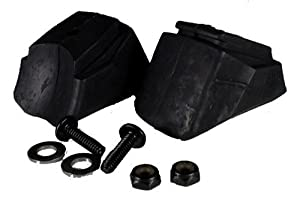 Rollerblade Standard 762L Inline Skates Brake Pad (Pack of 2), Black by Rollerblade