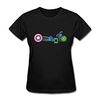 Juniors' Marvel Comics Captain America Shield T-shirt