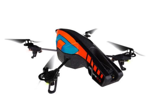 Parrot AR Drone Quadricopter, 2.0 Edition, Orange/Blue