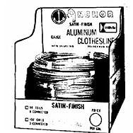 Hillman Fastener Corp 123149 9-Gauge Aluminum Clothesline Pack of 12