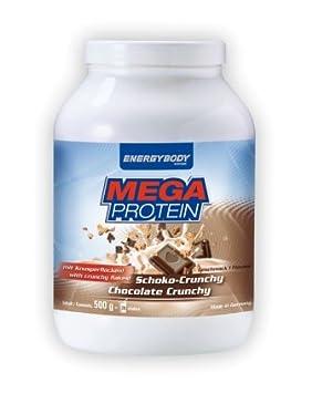 Energybody Mega Protein mit Fruchtstucken 750g Dose Schoko-Crunchy