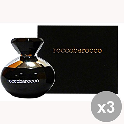 Set di 3 ROCCOBAROCCO Black edp donna 100 ml. - Profumo femminile