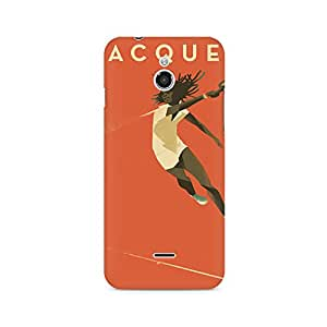 Mobicture Girl Abstract Premium Printed Case For InFocus M2