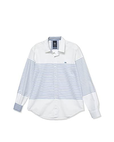 TBS Camicia Uomo Cherax [Bianco/Blu]