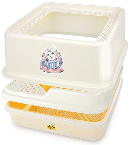 Low sided cat litter box