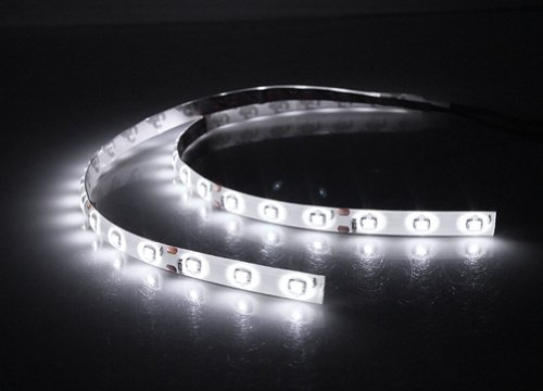 2 pcs 30cm 15 3828 SMD White PVC Car Vehicle