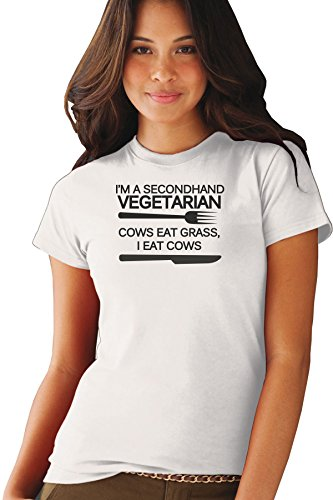 im-a-secondhand-vegetarian-cows-eat-grass-i-eat-cows-funny-food-exclusive-quality-t-shirt-for-damen-